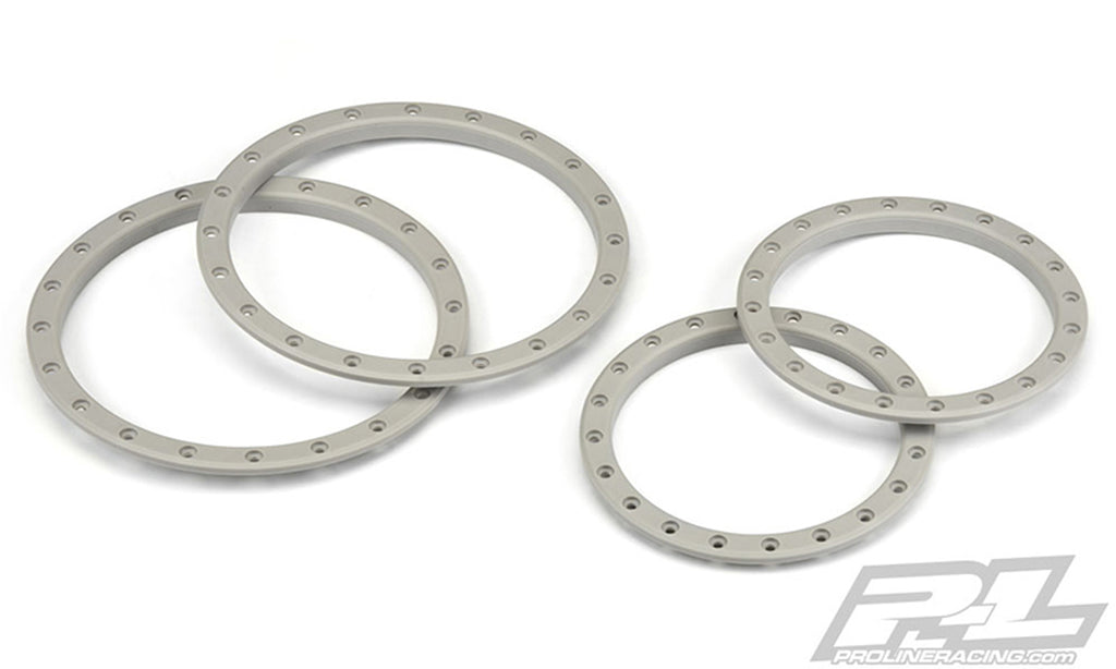 PRO2763-21 2763-21 Pro-Loc Wheel Rings, Stone Gray, X-Maxx