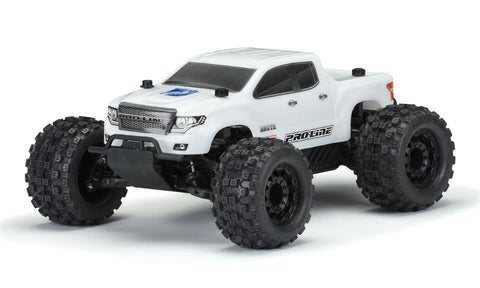 Pro-Line Stampede 4x4 Brute Bash Armor Body, White, 3518-15