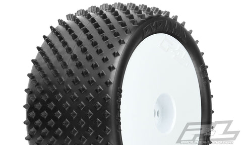 "Pro-Line Pyramid 2.2"" Z3 Buggy Tires Mounted, Rear, 8267-13"