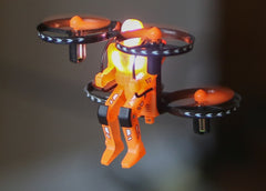 RGR4504 RGR4504 Jetpack Commander Night Ranger, Orange