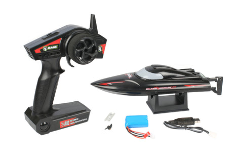 Rage RC Black Marlin MX RTR Brushless Boat, RGRB1130