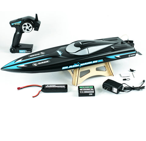 Rage RC Black Marlin RTR/RTF Brushless Boat, RGRB1205