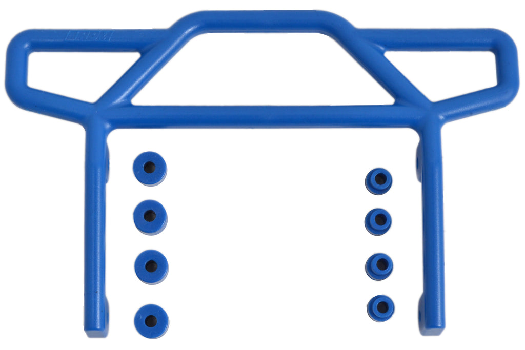 RPM70815 70815 Bumper, Rear, E-Rustler, RPM, Blue
