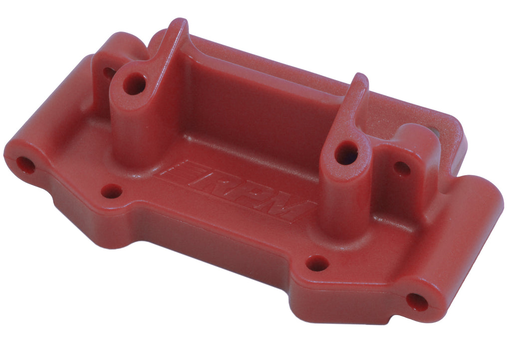 RPM73759 73759 Front Bulkhead, Red, Traxxas 2WD 1/10