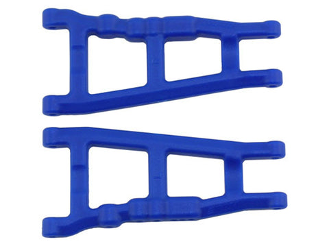 RPM Front/Rear A-Arms, Slash 4x4 / Rustler 4x4, Blue, 80705
