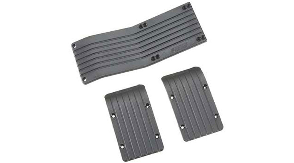 RPM80772 80772 3 Skid Plate Set - Black