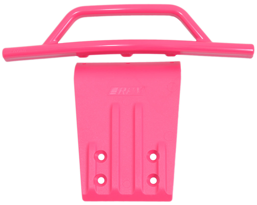 RPM80957 80957 Bumper, Front, Slash 2WD, Nitro Slash, Pink
