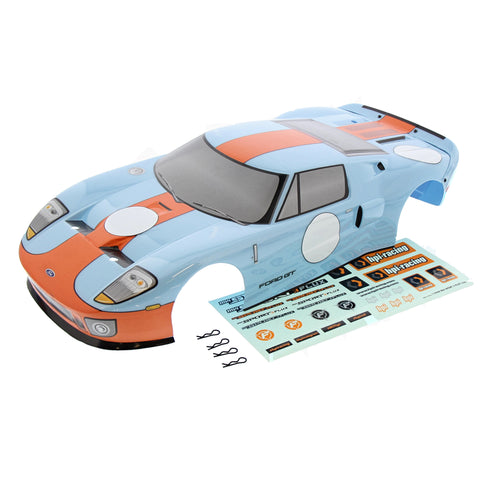 HPI Racing 1/10 RS4 3 Flux Ford GT Heritage Edition Body, Decals & Clips