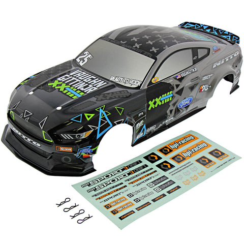HPI Racing 1/10 RS4 Sport 3 & Drift Ford Mustang 2015 RTR Spec 5 Vaughn Gittin Jr. Body