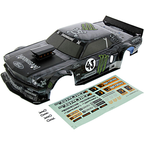 HPI Racing 1/10 RS4 Sport 3 & Drift Ken Block 1965 Ford Mustang Hoonicorn RTR Body