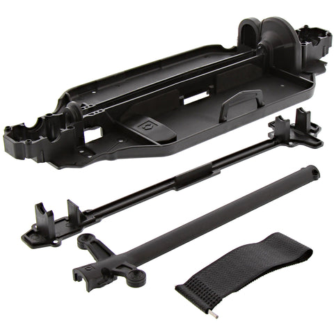 HPI Racing 1/10 RS4 Sport 3 & Drift Chassis, Drive Shaft Covers & Battery Strap