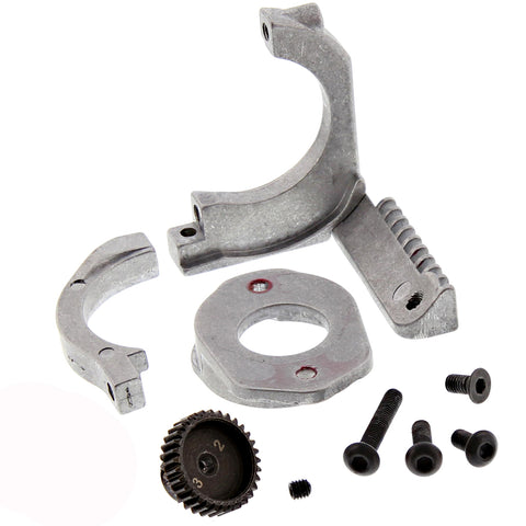 complete with fixing bolts. 1//8th Universal Adjustable Nitro Engine mount set