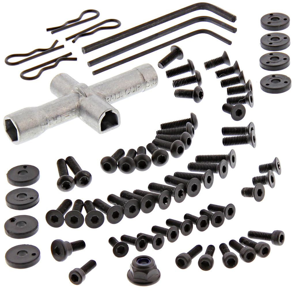 RS4s Screws 114343 70+ Piece Screw & Tool Kit