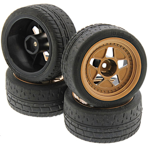 HPI Racing 1/10 RS4 Sport 3 & Drift Fifteen52 Tarmac R43 Bronze Wheels & Tires