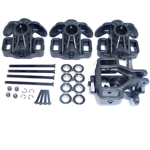 HPI Racing 1/8 Savage X 4.6 Hub Carrier Uprights, Bearings & Shafts