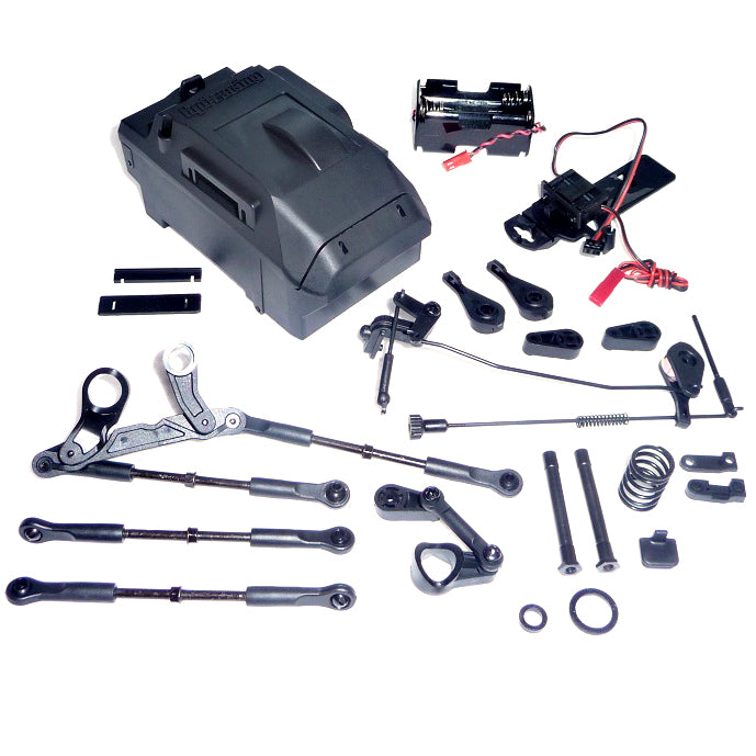 SavageX Battery Box 109083 Battery Box, Linkage, Bellcrank & Turnbuckles