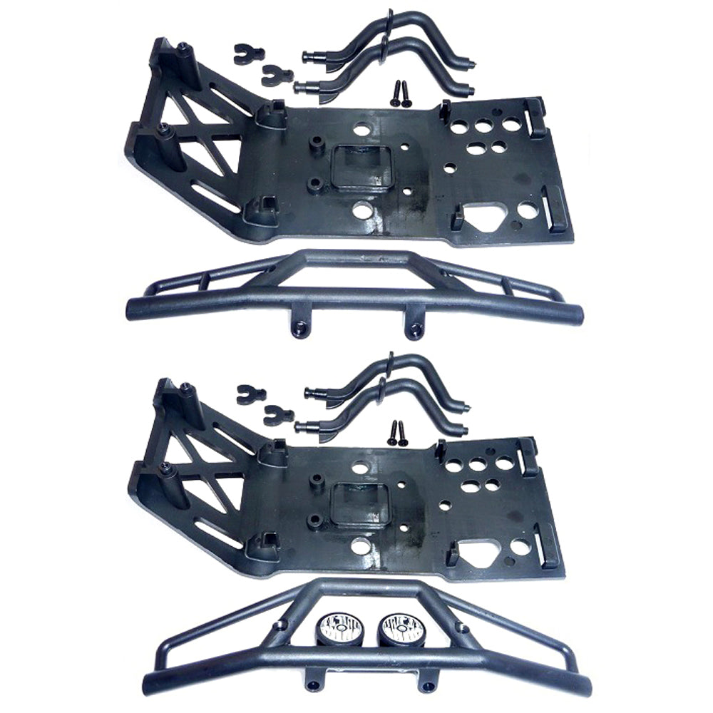 SavageX Bumpers 109083 Front & Rear Bumpers & Skidplates