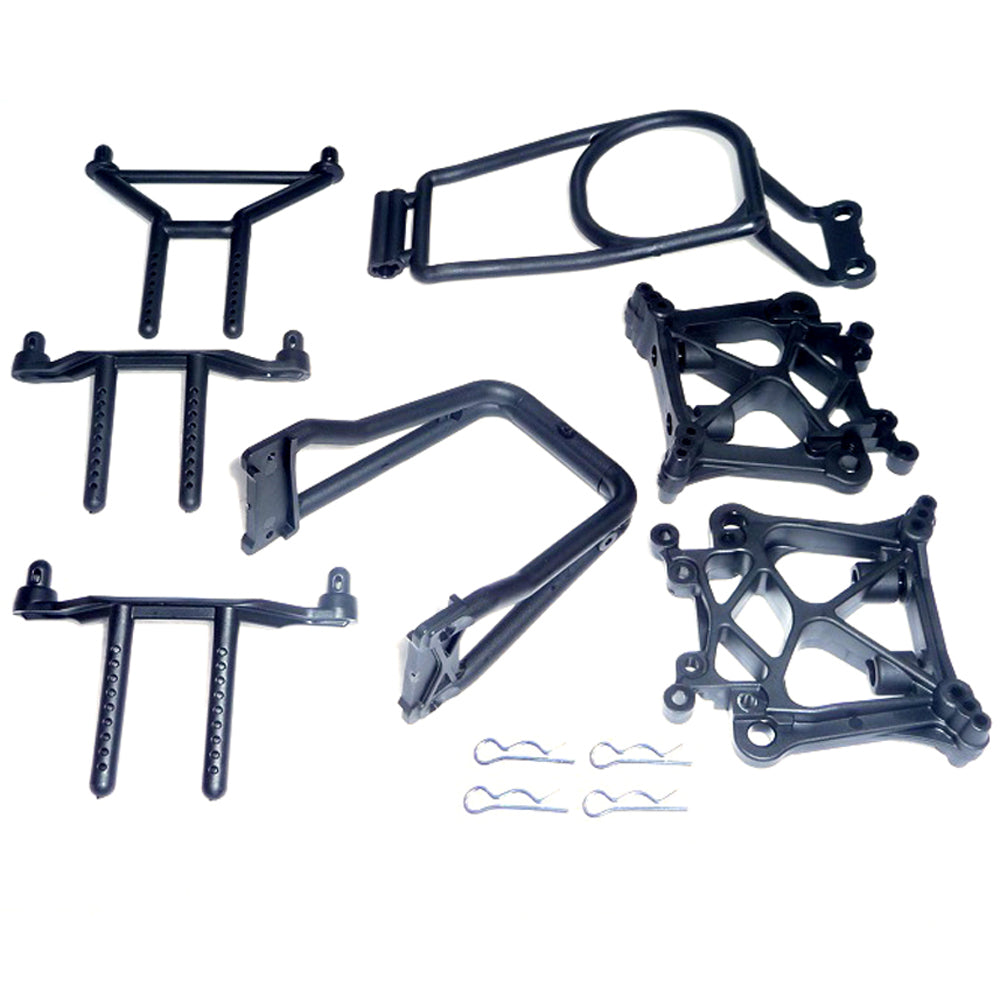SavageX Shock Towers 109083 Shock Towers, Roll Bar & Body Posts