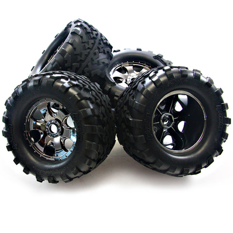 HPI Racing 1/8 Savage X 4.6 Tires & Wheels
