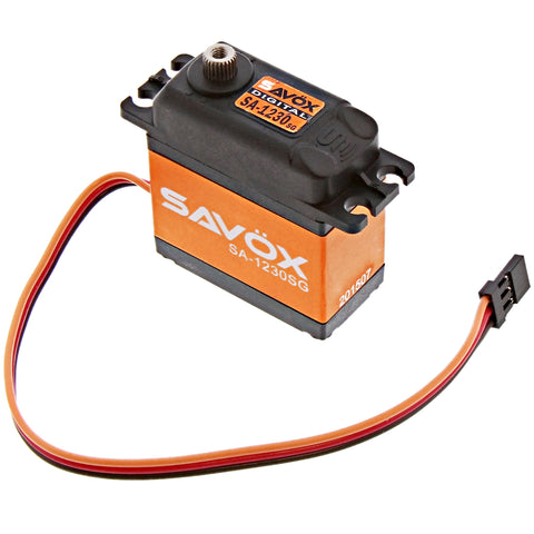 Savox Monster Torque Coreless 6.0V Digital Servo .16/500, SA-1230SG