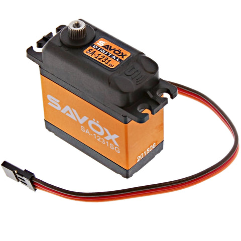 Savox High Torque Coreless 6.0V Digital Servo .14/144, SA-1231SG