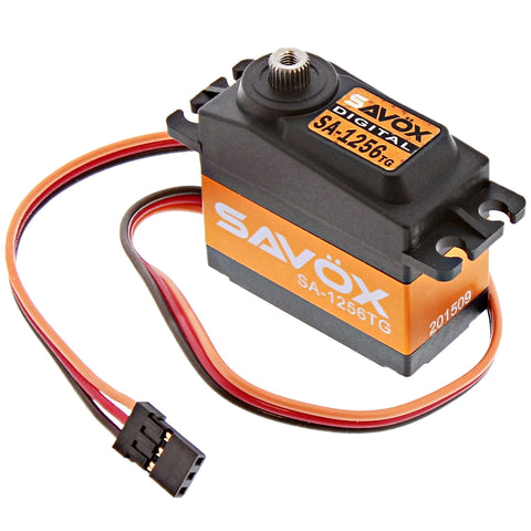 Savox High Torque Titanium Gear 6V Digital Servo .15/277, SA-1256TG