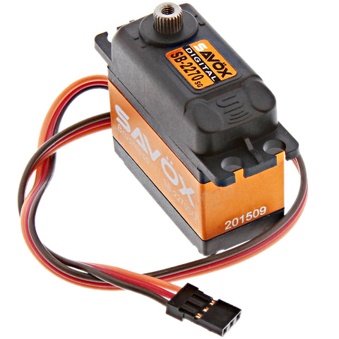 Savox High Voltage Monster Torque Brushless 6.0V Digital Servo .15/444, SB-2270SG
