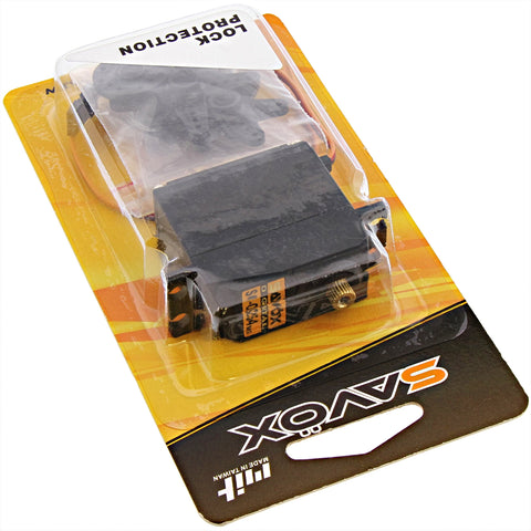 Savox High Torque Standard Size 6.0V Digital Servo .14/100, SC-0254MG