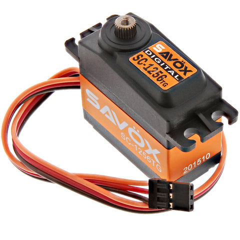Savox High Torque Titanium Gear 6.0V  Digital Servo .15/277, SC-1256TG