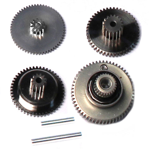 Savox Steel Servo Gear Set & Bearings, SAV-SG-SA1231SG
