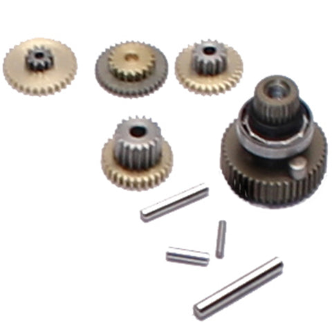 Savox Metal Servo Gear Set & Bearing, SAV-SG-SC1251MG