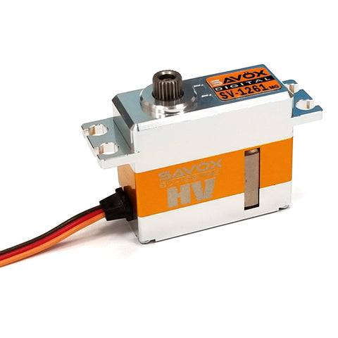 Savox Mini Hi Torque High Voltage Digital 7.4V Servo, SV-1261MG