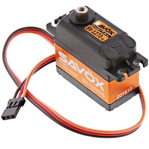 Savox High Voltage Monster Torque 7.4V Digital Servo .11/487, SV-1270TG