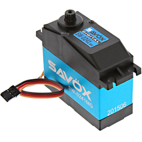 Savox Waterproof 1/5 Scale 7.4V Digital Servo .17/555, SC-0241MG
