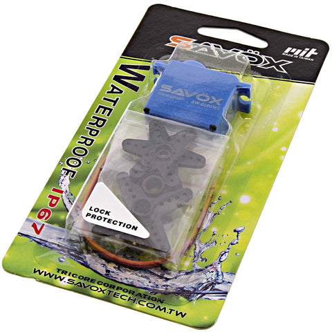 Savox Waterproof 6.0V Digital Micro Servo .11/69, SW-0250MG