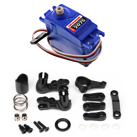 Traxxas 1/10 Slash 2WD VXL 2075 Digital Waterproof Steering Servo & Bellcranks