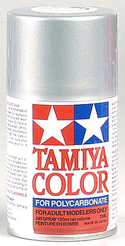 Tamiya PS-41 Polycarb Spray Bright Sil, 86041
