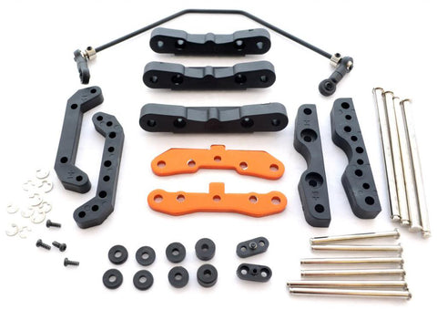 HPI Racing 1/8 Trophy Buggy Flux Hinge Pin & Sway Bar Set