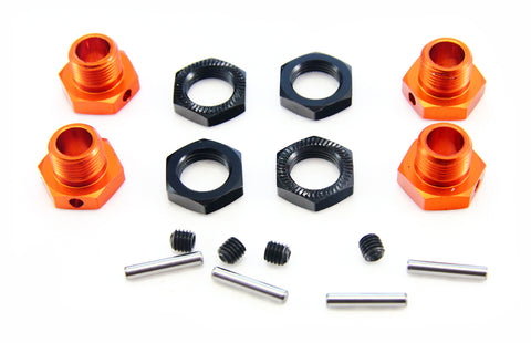 HPI Racing 1/8 Trophy Buggy Flux 17mm Wheel Hex & Nut Set