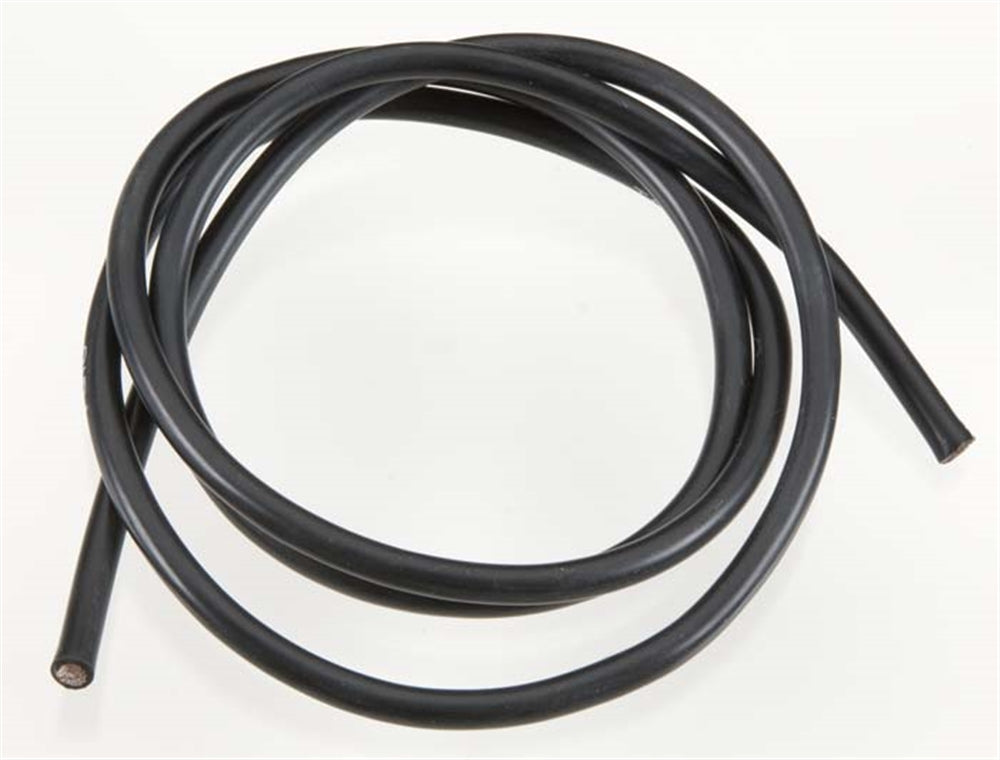 TQW1131 1131 10 Gauge Wire, 3' Black