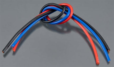 Tq Wire Products 1303 13 Gauge 3' Wire Kit 1' ea Black/Blue/Red, 1303