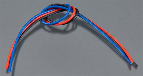 Tq Wire Products 1603 16 Gauge 3' Wire Kit 1' each Black/Blue/Red, 1603
