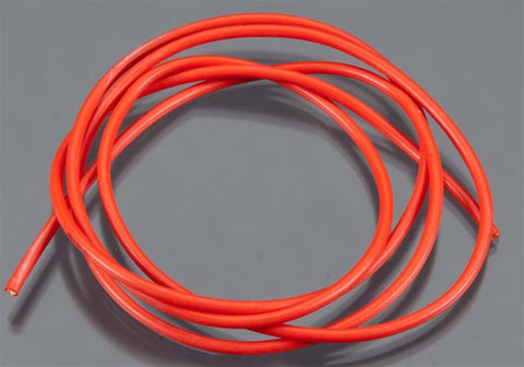 Tq Wire Products 16 Gauge Super Flexible Wire, 3', Red, 1634