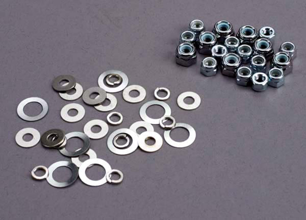 TRA1252 1252 Lock Nut & Washer Set