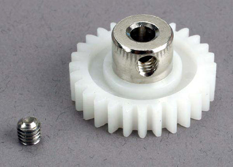 Traxxas Plastic Drive Gear 28T & Set Screw, Villain EX, 1526