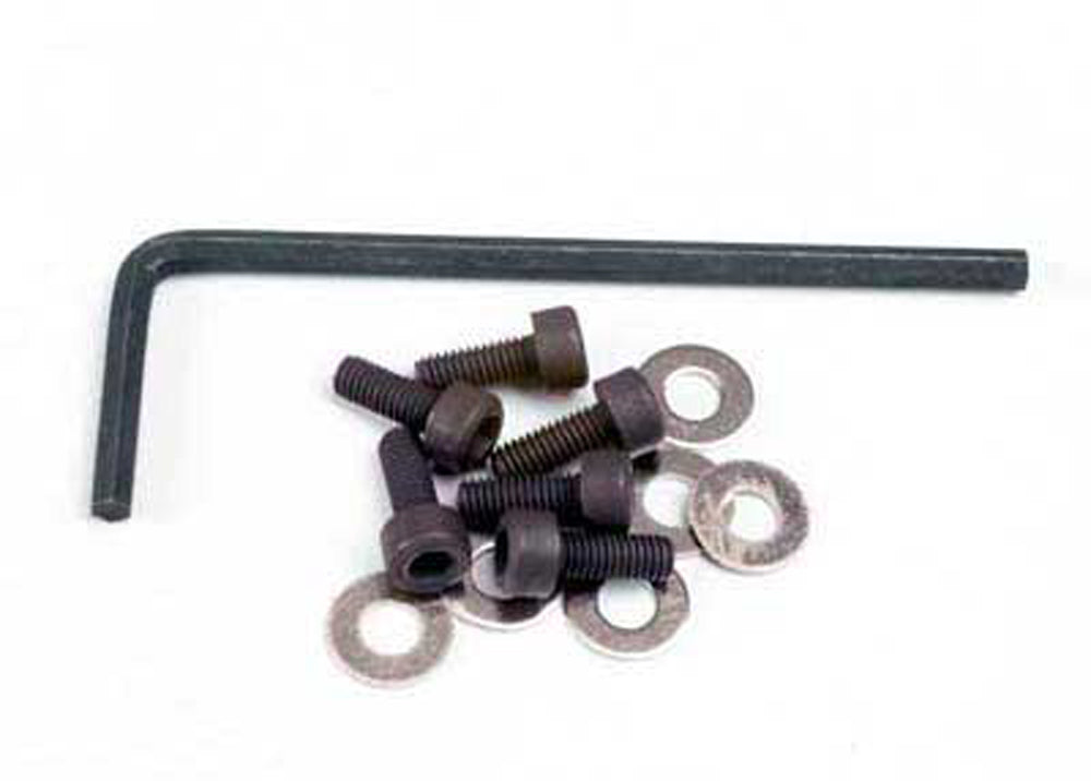 TRA1552 1552 12+ Piece Hex Motor Screw Set & Allen Wrench