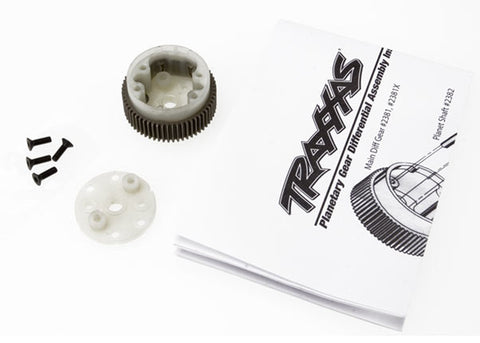 Traxxas Main Diff w/ Steel Ring Gear & Side Cover, 2381X