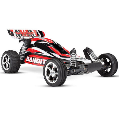 Traxxas Bandit XL-5 1/10 2WD Buggy, Red, 24054-1