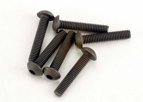 Traxxas Button Head Machine Screws, 3x15mm, 2579