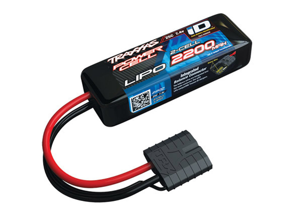 TRA2820X 2820X Power Cell 2S LiPo Battery, 25C 2200mAh